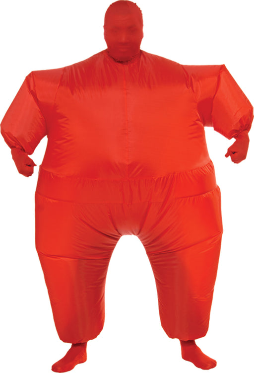 Inflatable Skin Suit Costume Red