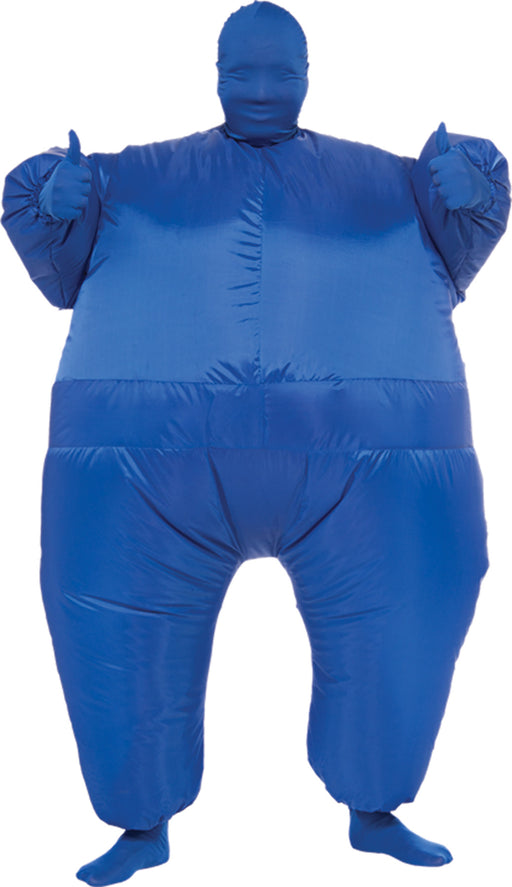 Inflatable Skin Suit Costume Blu