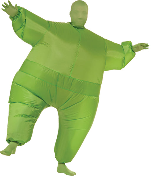 Inflatable Skin Suit Costume Gre