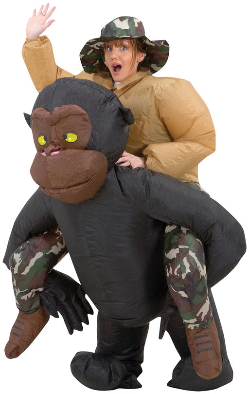Inflatable Riding Gorilla
