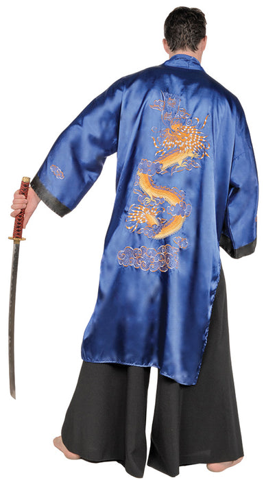 Samurai Blue Costume