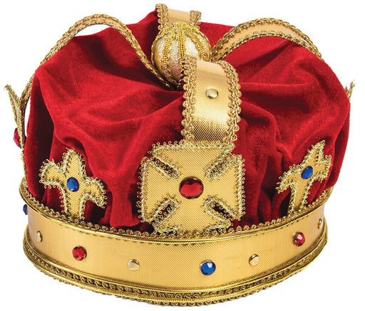 Regal King Crown Costume