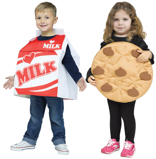 Cookies & Milk Tot Costume