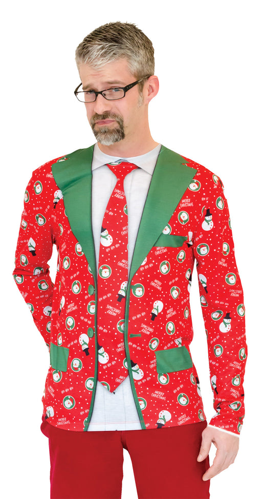 Ugly Christmas Suit Shirt