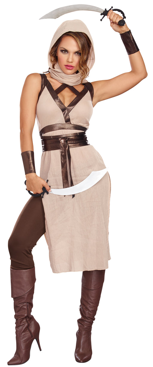Desert Warrior Woman Costume