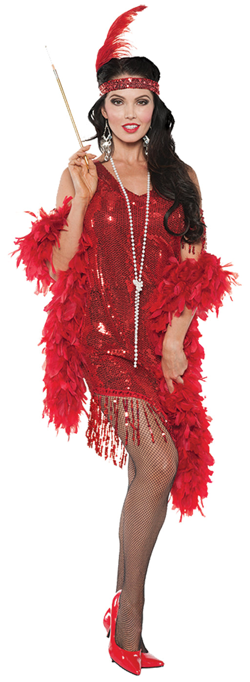 Swingin Red Costume