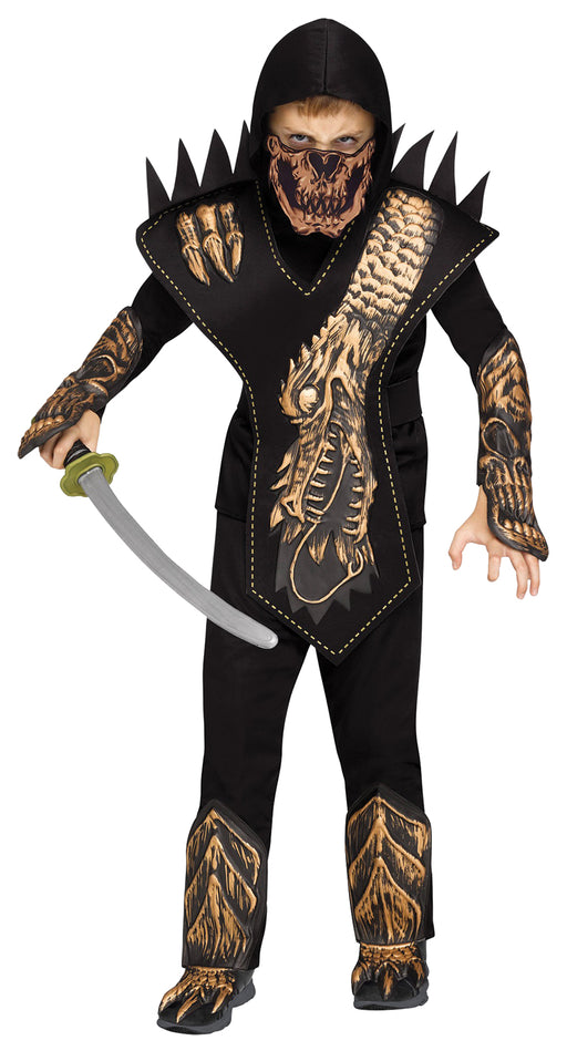 Skull Dragon Ninja Costume
