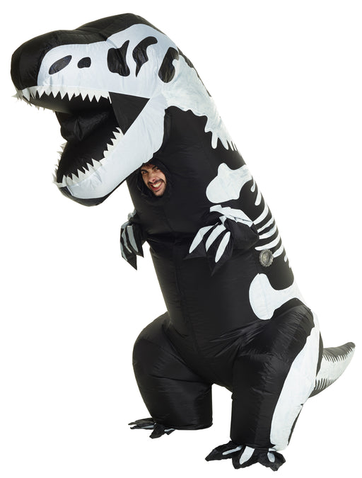 Skeleton T-Rex Inflatable Costume