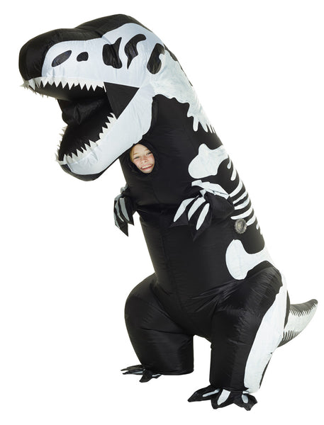 Skeleton T-Rex Inflatable Child