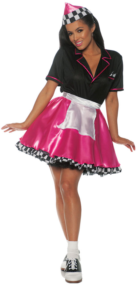 Car Hop Pink Costume