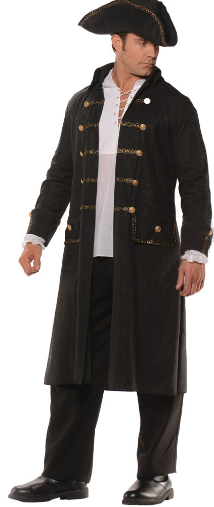 Pirate Coat Set Black