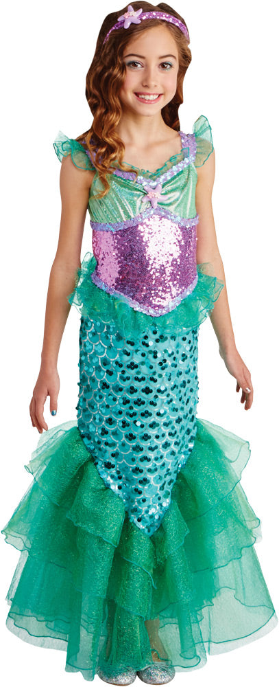 Blue Seas Mermaid Costume