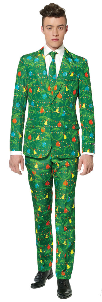 Christmas Tree Green Suit