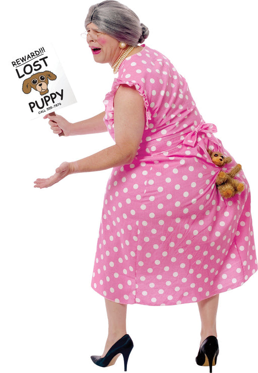 Lost Puppy Grandma Costume