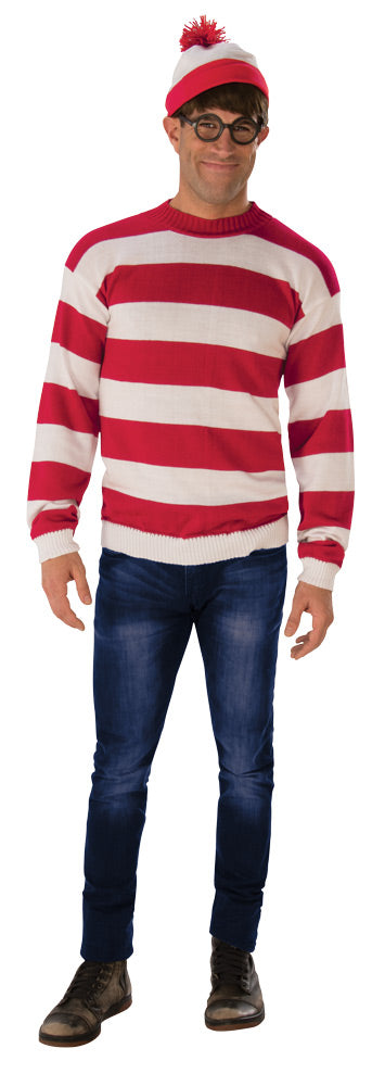 Where's Waldo Deluxe Costume