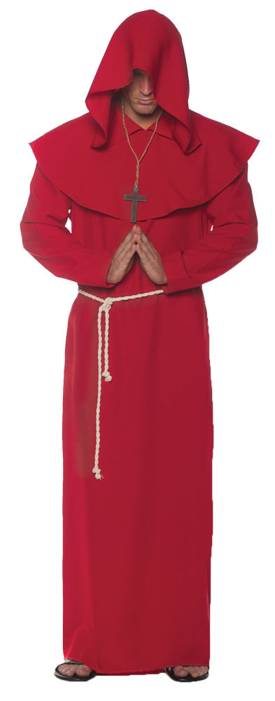 Monk Robe Red Costume