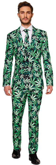Cannabis Weed Suit Costume