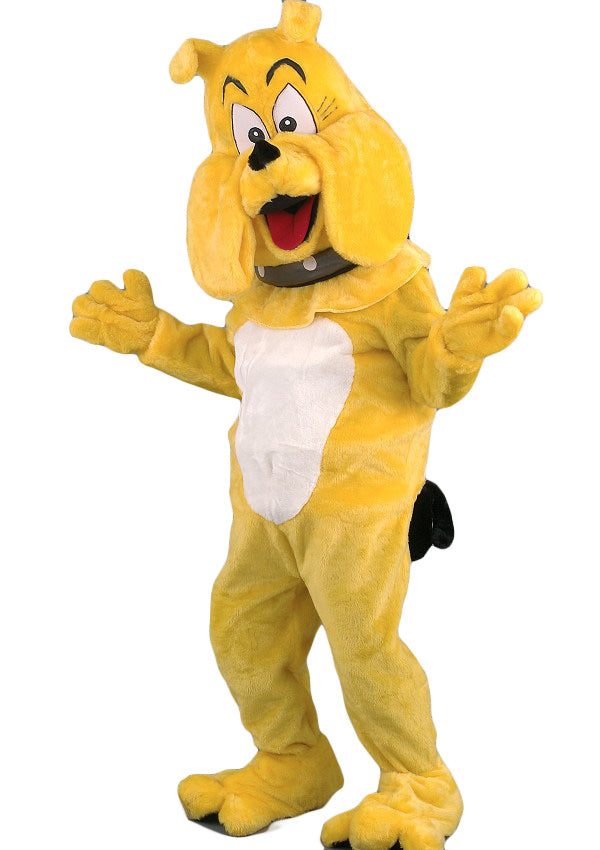 106A Cartoon Bulldog Costume Mascot