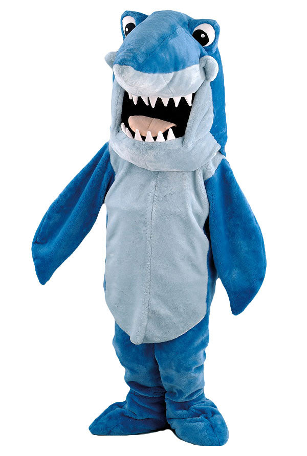 107B Cartoon Shark Mascot Costume
