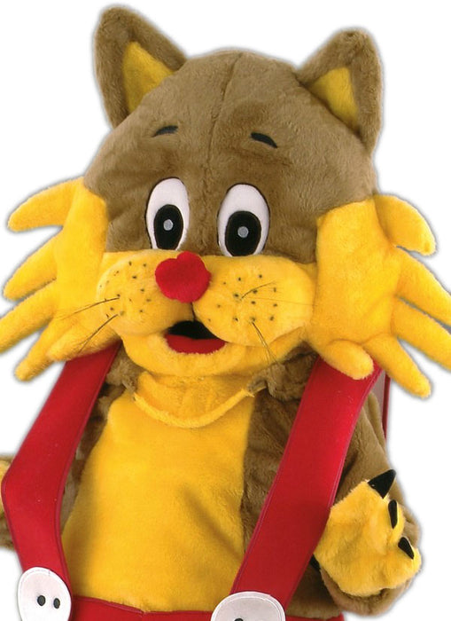 Cartoon Cat Costume Mascot