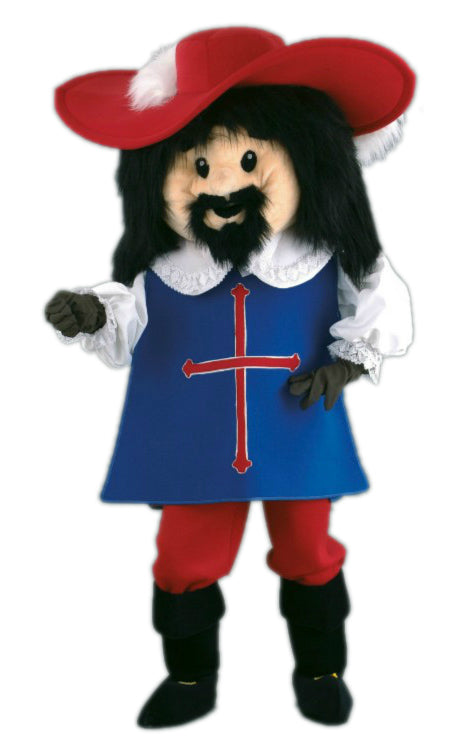 131A1 Musketeer Plush Mascots - Black Hair