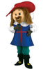 131A2 Musketeer Plush Mascots - Brown Hair