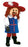 131A3 Musketeer Plush Mascots - Red Hair