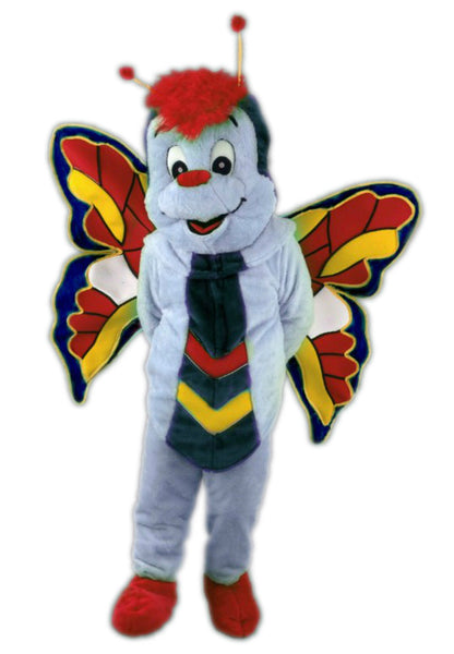 132C2 Blue Butterfly Costume Mascot