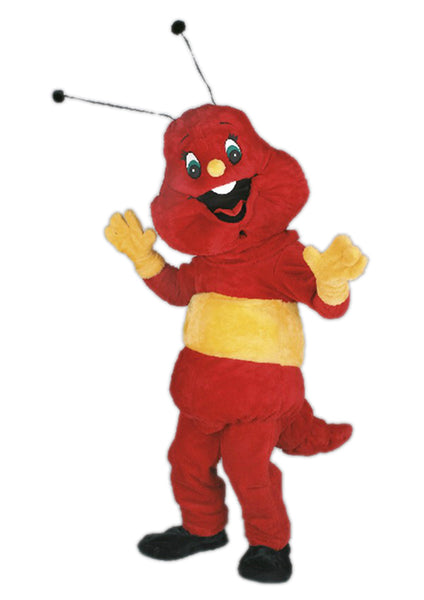 150A Red Ant Mascot Costume