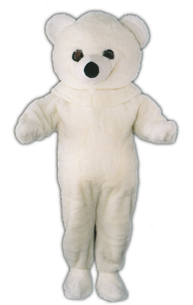 15A White Polar Bear Costume Mascot