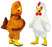 169B Chicken Costume Mascots Plush