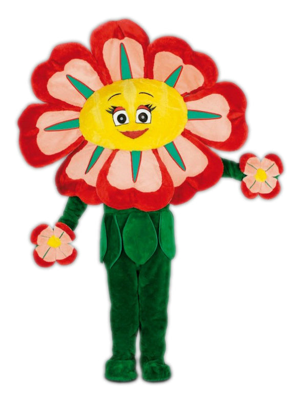 174C1 Red Flower Mascot Costume