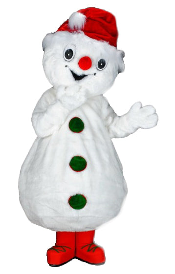 219B Happy Snowman Costume Mascot