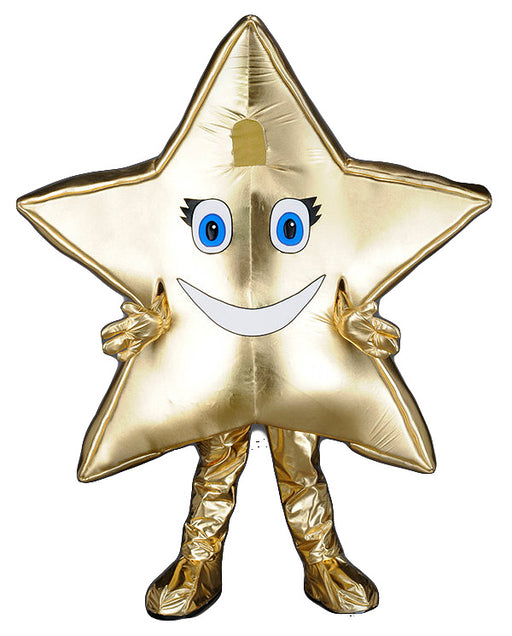 221H Happy Star Mascot Costume