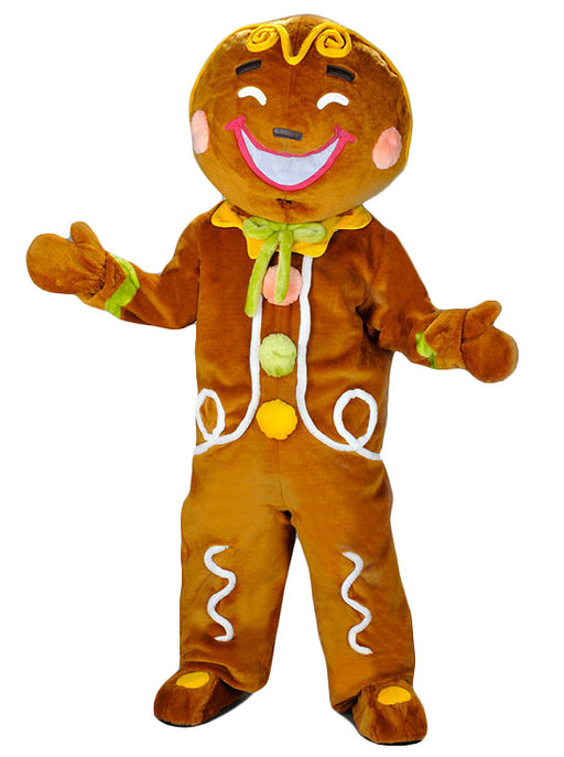 224B Gingerbread Man Mascot