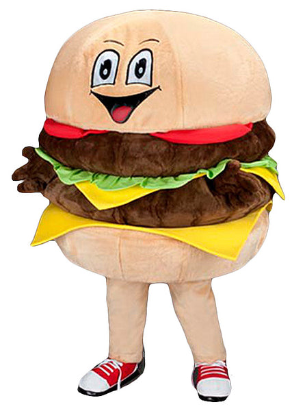 234S Hamburger Mascot Costume