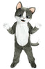 238B Gray Cat Mascot Costume