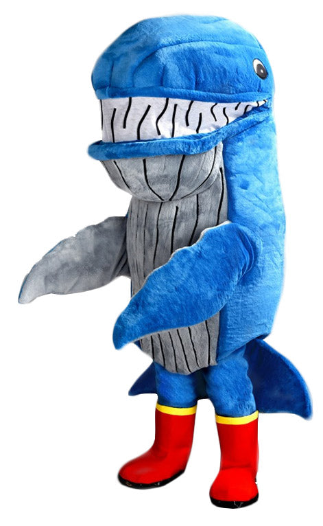 247C Cartoon Whale Mascot Costume