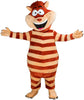 249C Striped Cat Mascot Costume