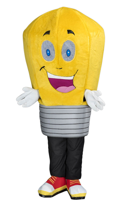 253C Light Bulb Mascot Costume