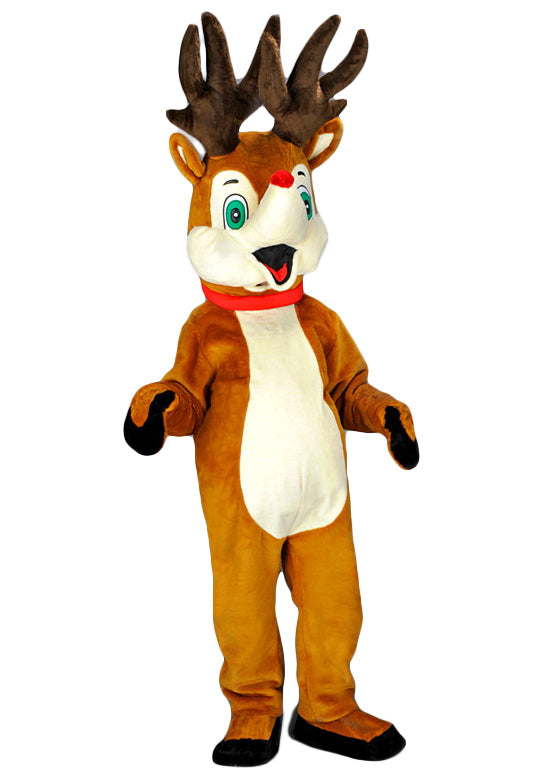 Toddlers Mouse Costume: Rudolph The Red Nose Reindeer Costume