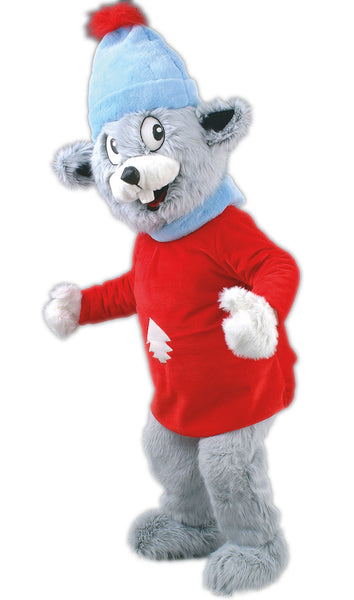 78A Winter Mouse Costume Mascot