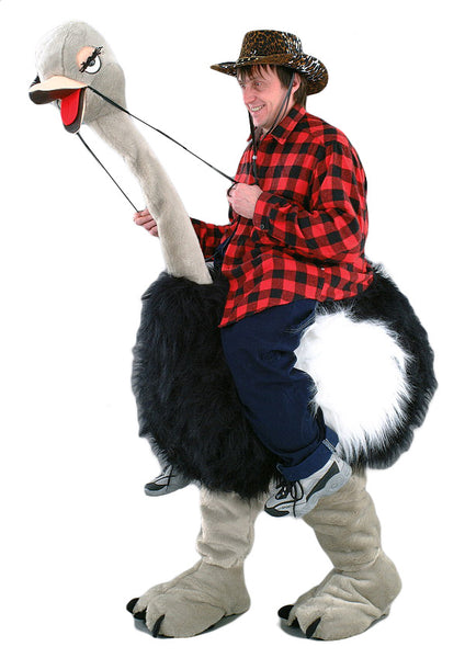Toddlers Mouse Costume: Ostrich Walker Mascot Costume 86D
