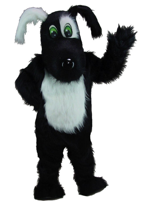 Blackie Dog Mascot Costume