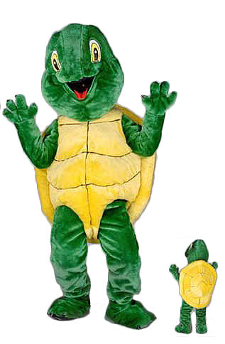 111B Plush Turtle Mascot Costume