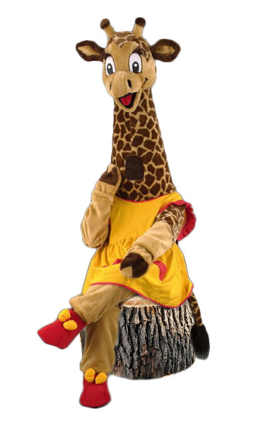 122C Friendly Giraffe Costume
