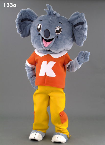 133A Happy Koala Mascot Costume