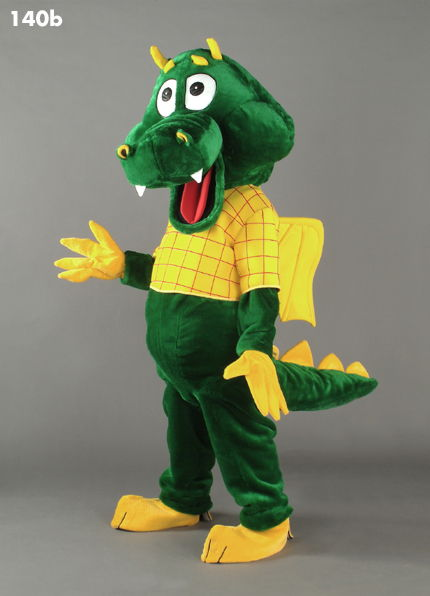 140B Funny Dragon Mascot Costume