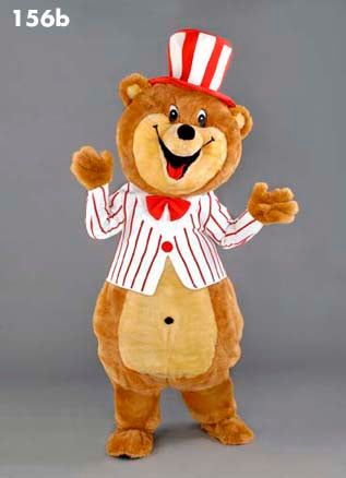 156B Happy Bear Mascot Costume