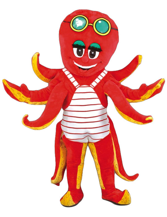 160C Octopus Costume Plush Mascot